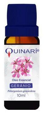 Óleo essencial de GERÂNIO (Perlagonium graveolens) Quinarí - 10 mL