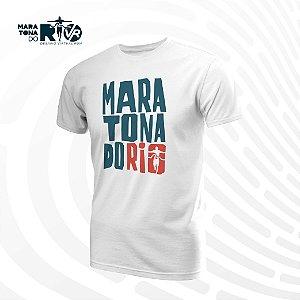 Camiseta Masculina Branca Desafio Cinemaratona