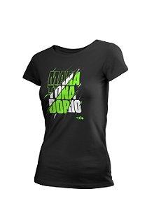 Camiseta Algodão Rajada Maratona do Rio Feminina
