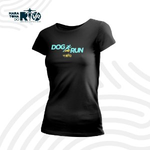 Camiseta Dry Desafio Dog Run Feminina