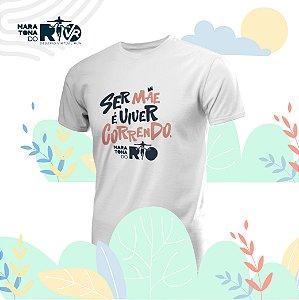 Camiseta Masculina Branca Desafio Mães