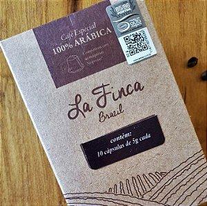 Café em cápsula La Finca