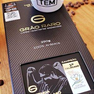 Café Grão Raro Campeão Concurso Internacional