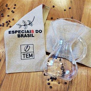 Recipiente para café em vidro - Chemex 6 xícaras