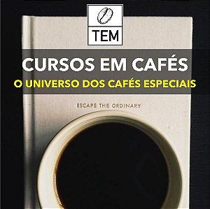 Curso: O Universo dos Cafés Especiais - versão on-line e ao vivo