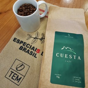 Café Especial Cuesta Jasmim - Embalagem Promocional 1kg