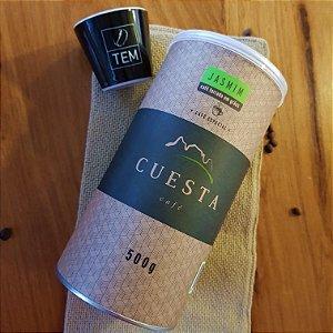 SUPER PROMOÇÃO: CAFÉ ESPECIAL CUESTA JASMIM LATA 500G
