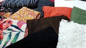 6 KG tecidos mistos coleção nova (tamanhos variados PEQUENOS E MÉDIOS  )