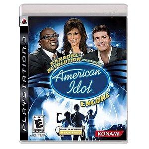 JOGO AMERICAN IDOL ENCORE PS3