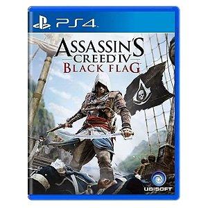 JOGO ASSASSINS CREED IV: BLACK FLAG PS4