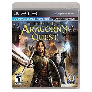 JOGO ARAGORNS QUEST PS3