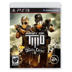 JOGO ARMY OF TWO: THE DEVIL´S CARTEL PS3