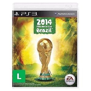 JOGO COPA DO MUNDO DA FIFA BRASIL 2014 PS3