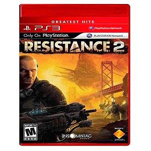 JOGO RESISTANCE 2 PS3