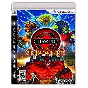 JOGO CHAOTIC: SHADOW WARRIORS PS3