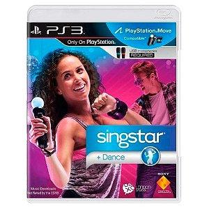 JOGO SINGSTAR DANCE PS3