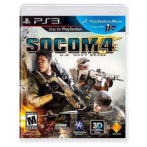JOGO SOCOM 4: U.S. NAVY SEALs PS3