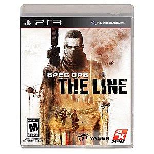JOGO SPEC OPS: THE LINE PS3