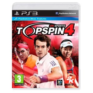 JOGO TOP SPIN 4 PS3