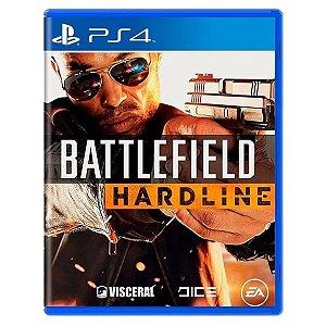 JOGO BATTLEFIELD HARDLINE  PS4