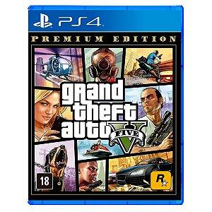 JOGO GTA V PREMIUM EDITION PS4 - NOVO