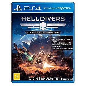 JOGO HELLDIVERS PS4
