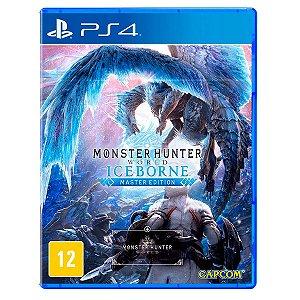 JOGO MONSTER HUNTER WORLD: ICEBORNE PS4