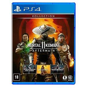 JOGO MORTAL KOMBAT 11: AFTERMATH PS4