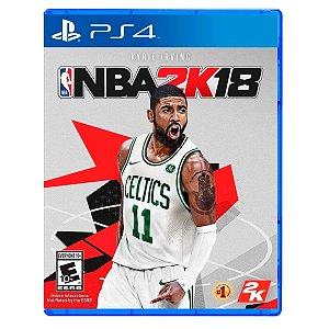 JOGO NBA 2K18 PS4