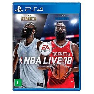 JOGO NBA LIVE 18 PS4
