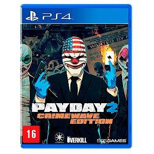 JOGO PAYDAY 2 PS4