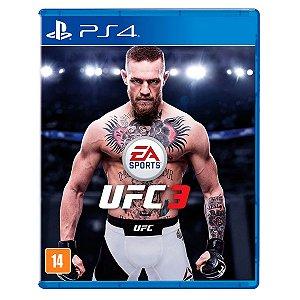 JOGO UFC 3 PS4