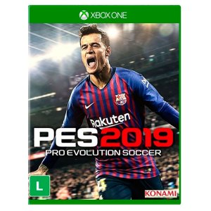 JOGO PRO EVOLUTION SOCCER 2019 XBOX ONE