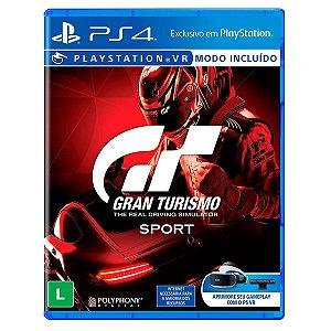 JOGO GRAN TURISMO SPORT PS4 - SEMINOVO