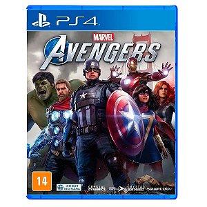 JOGO MARVEL AVENGERS PS4