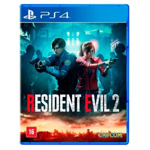 JOGO RESIDENT EVIL 2 REMAKE PS4 NOVO