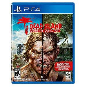JOGO DEAD ISLAND DEFINITIVE COLLECTION PS4