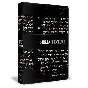 Bíblia de Estudo Textual - Luxo Preta
