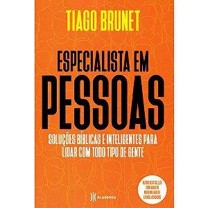 Livro Especialistas em Pessoas - Tiago Brunet
