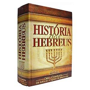Livro História dos Hebreus Flávio Josefo Edição Luxo