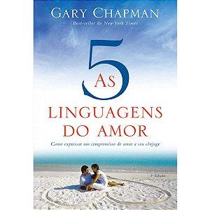 Livro As Cinco Linguagens Do Amor Capa Dura Gary Chapman