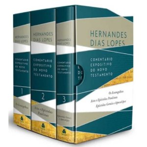 Box Comentário Expositivo Novo Testamento Hernandes Dias Lopes
