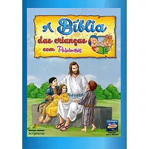 Bíblia Infantil das Crianças com Palabritas