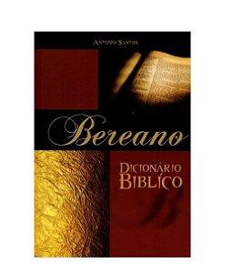 Dicionário Bíblico Bereano Antonio Santos