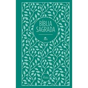 Bíblia Sagrada Leitura Perfeita Capa Dura Tecido Verde
