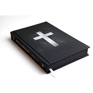 Bíblia Sagrada Capa Dura Cruz Branca Leitura Perfeita