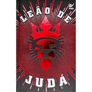 Bíblia Sagrada NVI Capa Dura Leão de Judá Preto e Vermelho