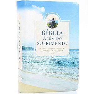 Bíblia Sagrada Além do Sofrimento Nova Almeida Atualizada Capa Ilustrada