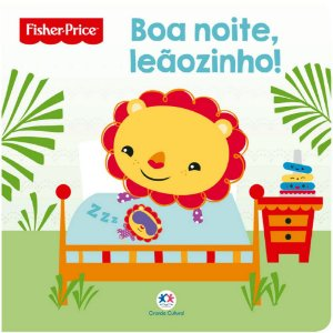 Livro Infantil Fisher Price Boa noite leãozinho!