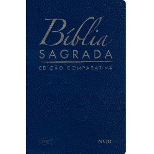 Bíblia Sagrada Edição Comparativa Extra-Gigante - Capa Luxo